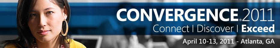 Microsoft DYnamics Convergence 2011 - Atlanta